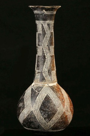 tall-necked bottle