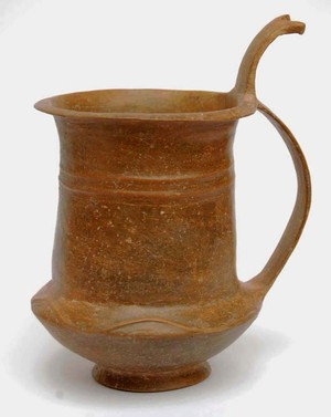 tankard, Base Ring I Ware (Late Bronze Age)