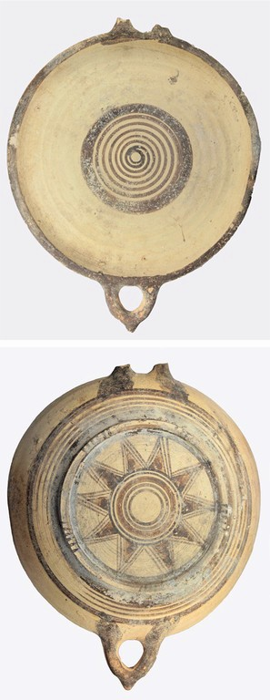 large dish (early Iron age – Cypro-Geometric I)