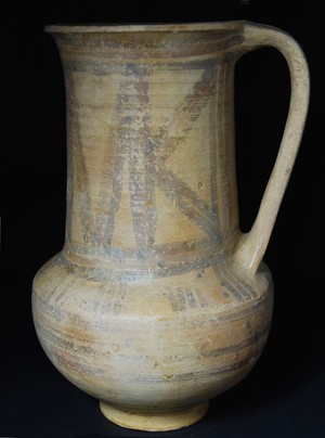 Wheel-Made Bichrome Ware tankard
