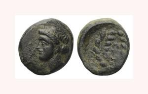 Bronze coin, possibly Soloi, King Eunestos (or Marion?)
