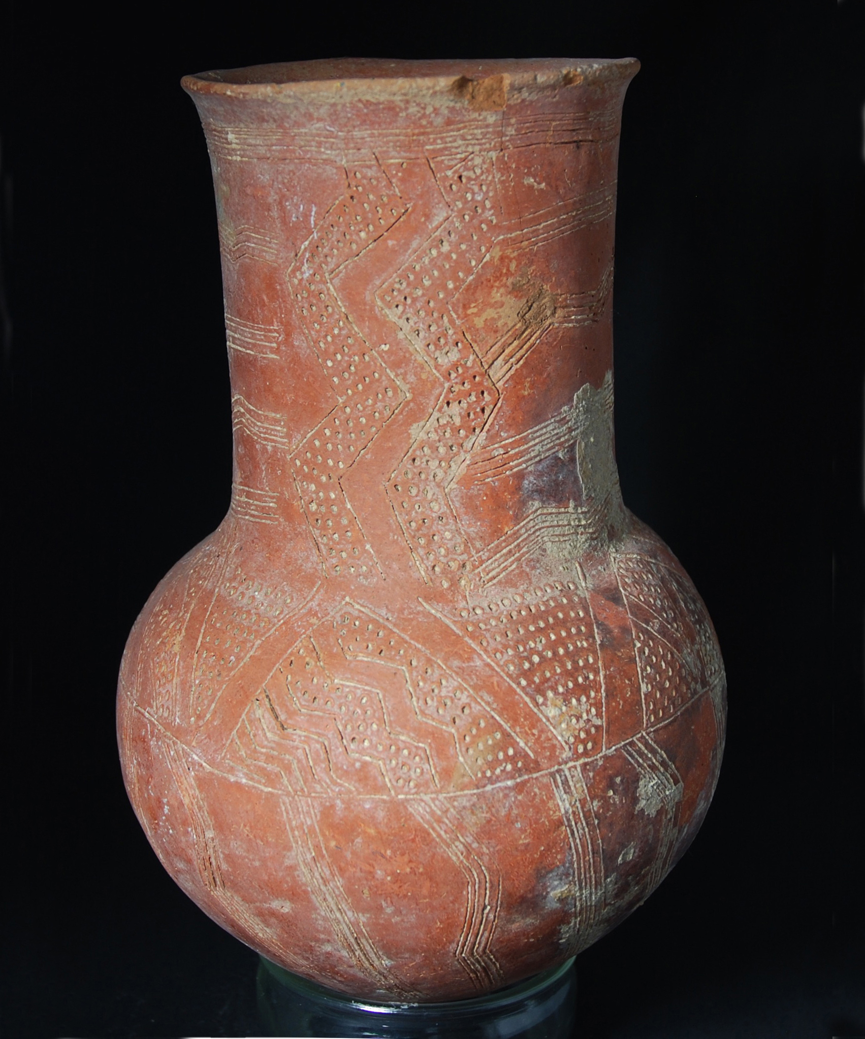 incised jug or large tankard