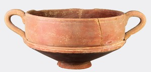 Redware cup