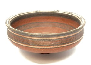 Bichrome Redware bowl