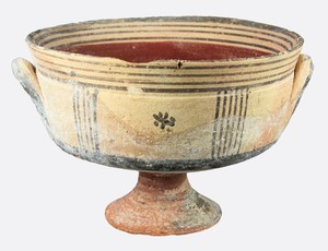 stemmed bowl (early Iron Age - Cypro Geometric III )
