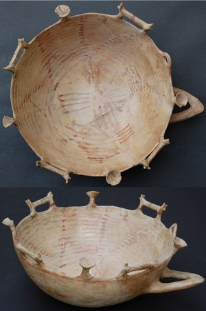 "cult vessel (""bull"" bowl)."