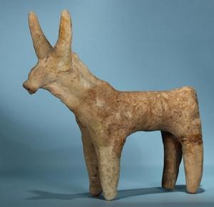 Large terracotta bull