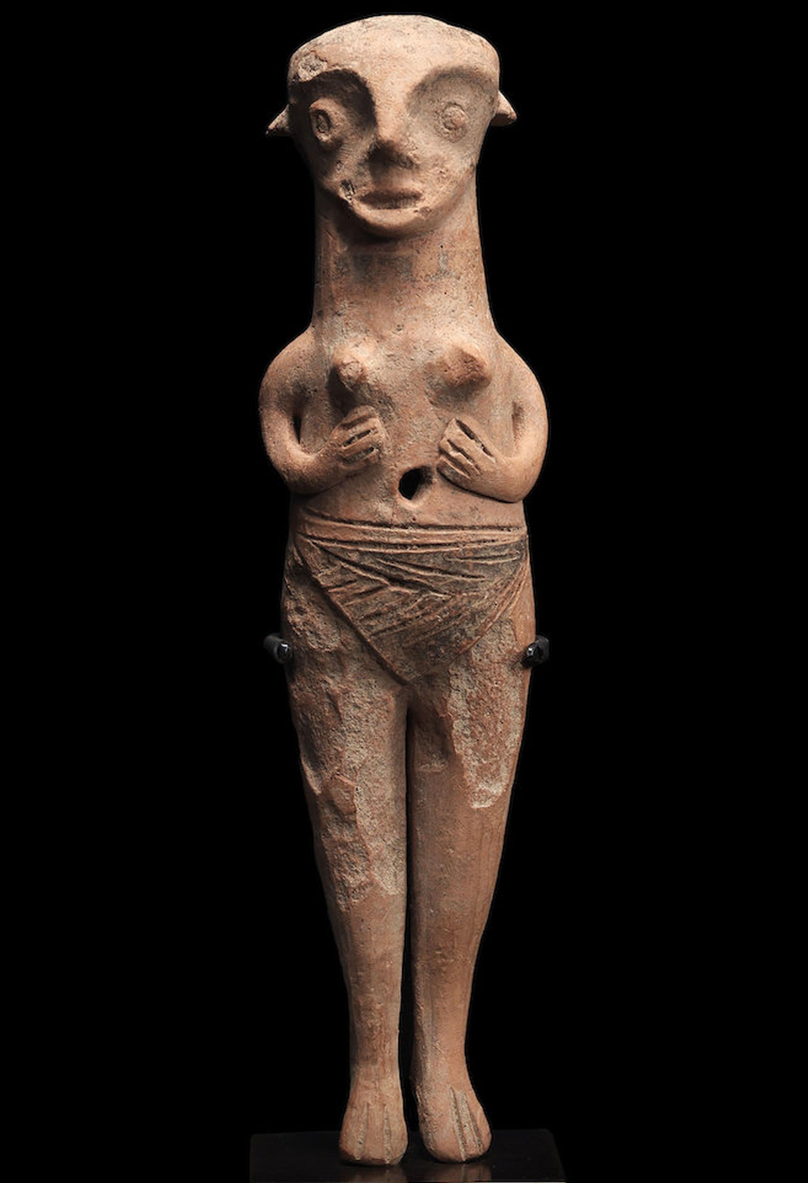 Flathead figure