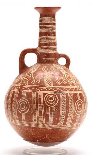Incised RPW Flagon