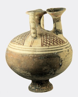 Cypro-Mycenaean, stirrup vessel