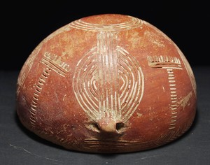 incised Red Polished Ware bowl