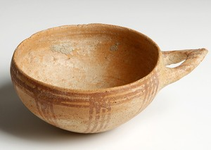 small White Slip II (Late) bowl