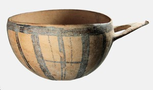 "White Slip II ware ""Milk Bowl""  (Late Bronze Age)"